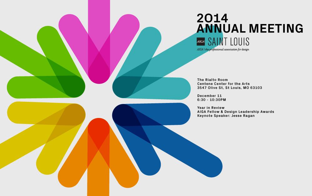 AIGA St. Louis Annual Meeting 2014